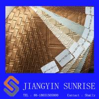 Wholesale Odorless PVC Decoration Metallic Leather Fabric Thickness 0.9mm from china suppliers