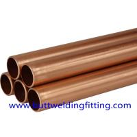 Wholesale JIS GB UNS 70/30 Seamless Copper Nickel Pipe / Water Heater Tube from china suppliers