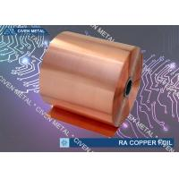 Wholesale High Precision Shielding Pure Copper Foil Roll , copper embossing foil from china suppliers