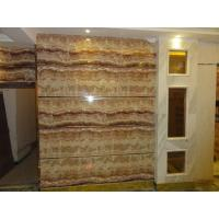 Wholesale UV coating mable textured waterproof bathroom wall covering panels wainscot panels Sliding from china suppliers