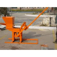 China Supplier Manual Compressed Earth Brick Machinery Machine 1-40 For Construction Machinery