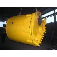 Wholesale Rock Foundation Drilling Tools / Lat Drilling Bucket For Bored Pile from china suppliers