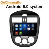 Wholesale Ouchuangbo car radio android 6.0 for Nissan Tiida with MP3 gps navi 1080 video reverse camera  4*45 Watts amplifier. from china suppliers