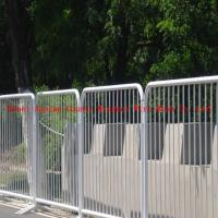 Wholesale Galvanized Crowd control barrier/Crowd Barricading/Portable Fence from china suppliers