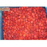 Wholesale Red Pure Organic Frozen Strawberries Fruit With 20%-30% Nature Floret from china suppliers