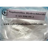 Wholesale Assay: 99%  Pharmaceutical Intermediates white powder adrenomimetic drug Naphazoline Hydrochloride  CAS 550-99-2 from china suppliers