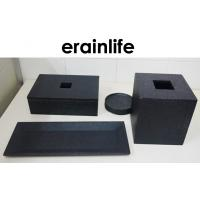 Wholesale Black Hotel Guest Room Supplies Luxury Bath Products With Towel Tray from china suppliers