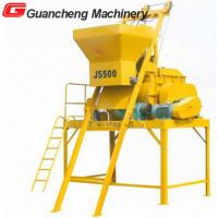 Wholesale JS500 horizontal  twin shaft concrete mixer from china suppliers