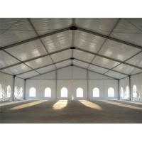 Quality 30 X 50m Aluminum Frame Permanent Outdoor Storage Tent Self Cleaning for Factory for sale