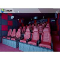 Buy cheap Hydraulic 5D HD Movie Theater With 55 inch displayer / 6 seats from wholesalers