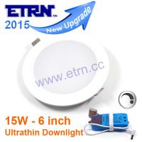 Wholesale ETRN Brand 6 inch 15W Dimmable LED Downlights LED Recessed Home Commercial Lighting from china suppliers