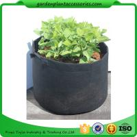 Wholesale Charcoal Durable Fabric Grow Pots , Perfect Heavy Harvest Planter Raised Bed from china suppliers