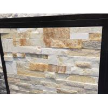 Buy cheap New Oyster Quartzite Ledgestone,Beige Stacked Stone,Split Stone Panels,Natural Stone Cladding from wholesalers