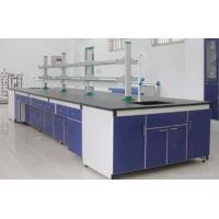 Buy cheap Steel Wood  Lab Island Bench With Drawer from wholesalers