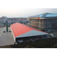 Wholesale Fabric Storage Buildings Warehouse Storage Tent Self Cleaning White / Red from china suppliers