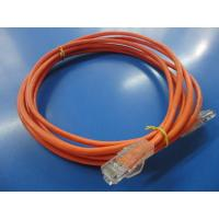 Quality EIA/TIA 568A 568B 24AWG 0.51mm Pure Copper Patch Cord Assemblies for sale