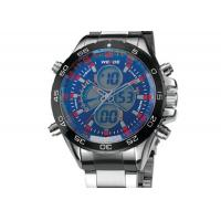 Wholesale Vogue Big Face Mens Military Watches Double Movement With Chronograph from china suppliers