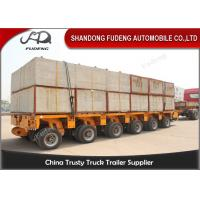 Wholesale Multi Axles Hydraulic Modular Trailers / Transportation Trailer Heavy Large Beams from china suppliers