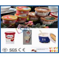 Wholesale 500L Plastic Cup Dairy Processing Plant , Professional Ice Cream Making Machine from china suppliers