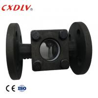 """Buy cheap 1/2""""Sight Glass Flange Ends WCB Swing Type PN16 Water Glass Casting/Pyrex Glass, from wholesalers"""