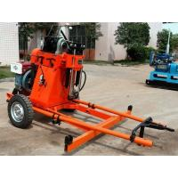 Wholesale Geotech And Rotary Portable Water Drilling Rig Hydraulic Feeding Structure from china suppliers