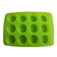 Wholesale FDA&LFGB silicone color muffin cake bakeware from china suppliers