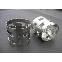 Wholesale Gas Industry Metal Random Packing Metal Pall Ring Packing High Separation Efficiency from china suppliers