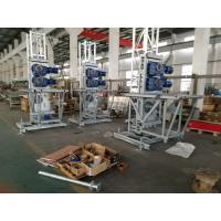 Wholesale Double and Single 200m Mast Climbing Work Platforms For Hotel Cleaning, High Security from china suppliers