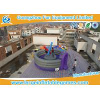 Wholesale Purple 5m Dia Joust Inflatable Sport Games Competitive Fighting Arena Eco Friendly from china suppliers