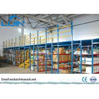 Wholesale Durable Mezzanine Warehouse System , Powder Coated Metal Mezzanine Systems from china suppliers
