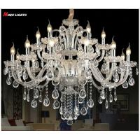 Wholesale Luxury Crystal chandelier For Living Room lustre cristal Modern Chandeliers Light Fixture Wedding Decoration Large from china suppliers