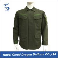 Wholesale BDU Unisex Military Tactical Jackets Outdoor With Pockets , IAF CNAS Certification from china suppliers
