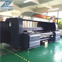 7 pl Reactive Ink  Digital Textile Printing Machine On Silk Scarves 1800mm  CE certified