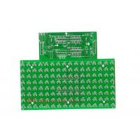 Wholesale Impedance Controlled Led Printed Circuit Board Double Side With 1OZ Cu Green Color from china suppliers
