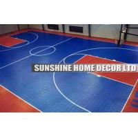 Wholesale Safe Healthy Plastic Synthetic Modular Sports Flooring For Basketball Court from china suppliers