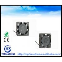 Wholesale Waterproof Dustproof Balck Ac Brushless Fan 120 Volt  80 Mm× 80 Mm× 25 Mm from china suppliers