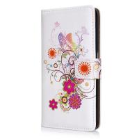 Quality Printed Flip Folio PU Leather Smartphone Protective Case Wallet For Samsung Galaxy S6 for sale