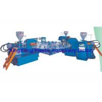 Quality 3 Colors Plastic Sneaker Shoe Making Machine / Footwear Manufacturing Machines for sale