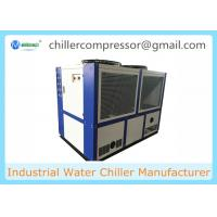 Wholesale 109kw 30 TR Industrial Air Cooled Water Chiller Scroll Compressor Chiller from china suppliers