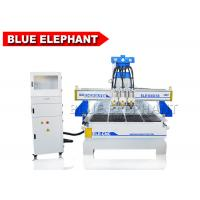 Quality 1340 Multi - Head CNC Router Cnc Cutting Machine Design For Wooden Door Chair Cabinet for sale