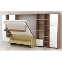 Wholesale Vertical Transformable  Modern Murphy Beds Wall Beds with Linked Sofa from china suppliers