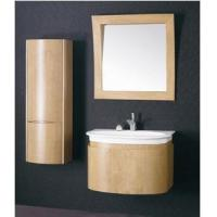 Wholesale Wall Mounted Modern Plywood Bathroom Cabinet Cover with Wooden Veneer  (BL-129022) from china suppliers