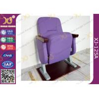 Wholesale Fixed Floor Smaller Church Seats , Auditorium Theater Seating And Tables For Cinema Hall from china suppliers
