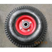 Wholesale High Quality 4PR Turf Pattern Rubber Wheel (4.10/3.50-4) from china suppliers
