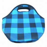 Wholesale Lunch tote, neoprene, can print or sew logo from china suppliers