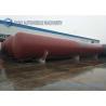 Buy cheap ASME 200M3 overground horizontal type cylinder LPG storage tank from wholesalers