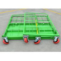 Quality Folding Stackable Wire Mesh Cage , Wire Mesh Container Roll Trolley For Transport for sale