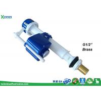 "Wholesale Telescopic bottom fill valve with brass shank G1/2"" for 1-pc and 2-pc toilet from china suppliers"