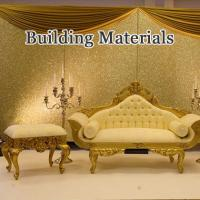 Quality The effect of glitter powder apply in building material decoration for sale