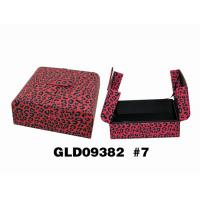 Wholesale Leopard Pattern Cosmetic / Chocolate Gift Packaging Box Casual Style from china suppliers